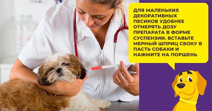 Диронет - противопаразитарное средство для щенков и взрослых собак